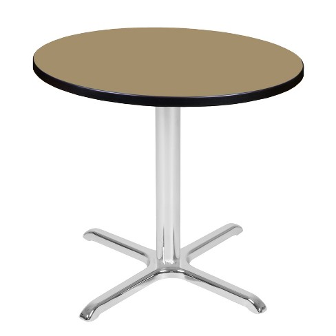 "30"" Via Round X-Base Table - Regency - image 1 of 3"