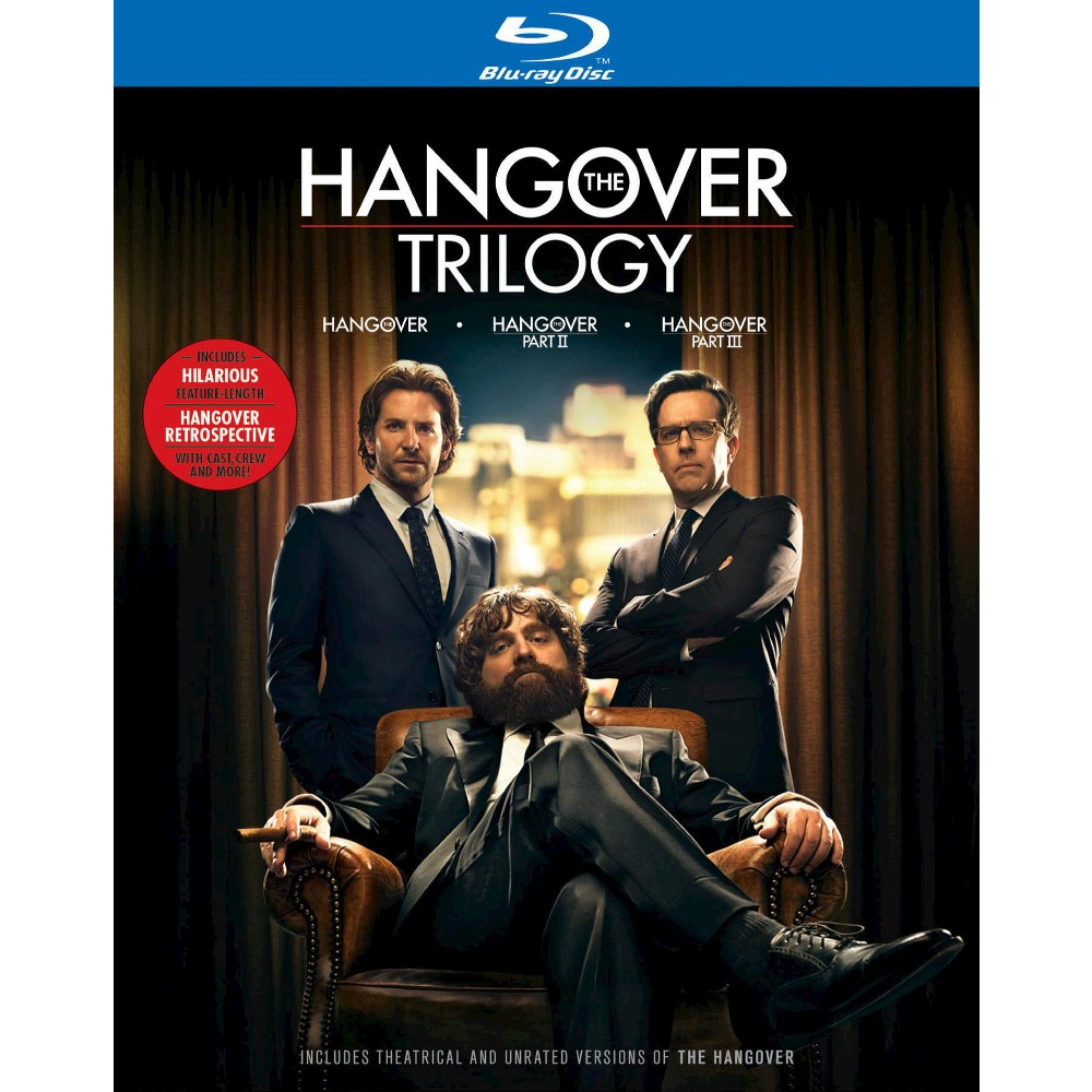The Hangover Trilogy [4 Discs] [Blu-ray] was $49.99 now $15.0 (70.0% off)
