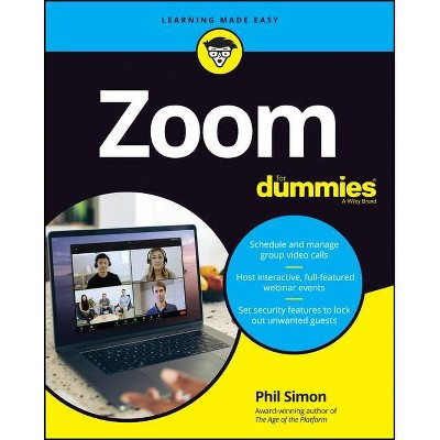 Zoom for Dummies - by  Phil Simon (Paperback)