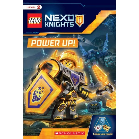 Lego Nexo Knights: Power Up! - by Rebecca L Schmidt (Paperback)