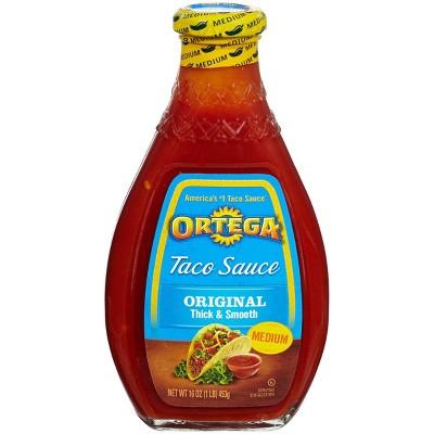 Ortega Original Thick & Smooth Medium Taco Sauce 16-oz.