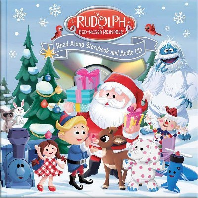 Rudolph the Red-Nosed Reindeer Read-Along Book and CD - (Mixed Media Product)