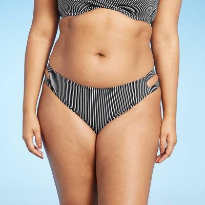 Women's Strappy Side Cheeky Bikini Bottom - Shade & Shore™