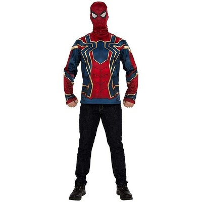 Avengers Infinity War Iron Spider Long Sleeve Adult Costume Top & Mask