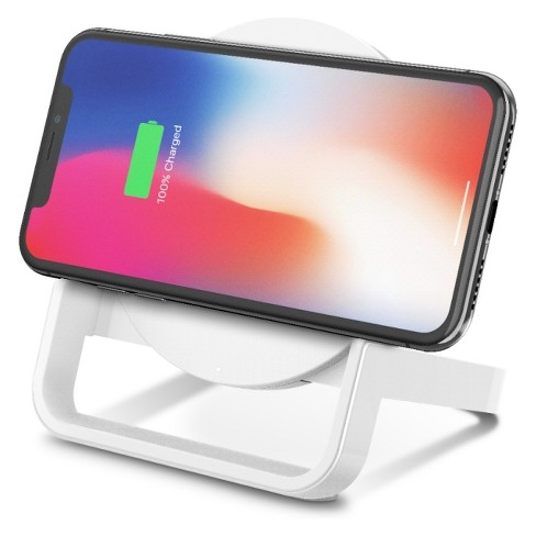 Belkin BOOST↑UP Qi Wireless Charging Stand - White
