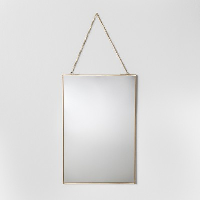 Distressed Brass Wall Mirror (18 )- Hearth & Hand™ with Magnolia