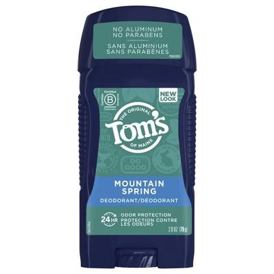 Men's Tom's of Maine Mountain Spring Deodorant - 2.8oz