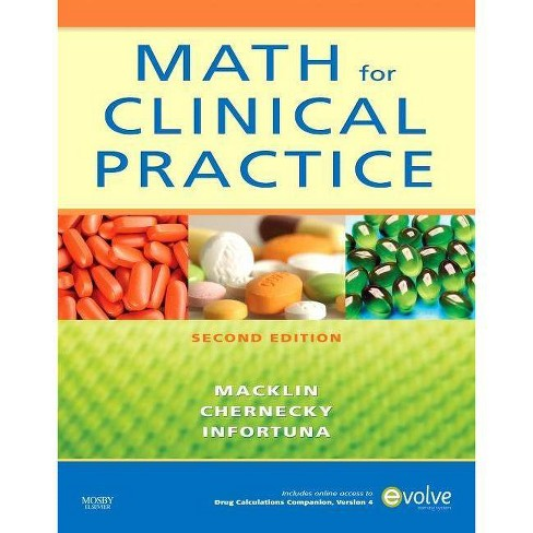 Math for Clinical Practice - 2 Edition (Paperback) - image 1 of 1