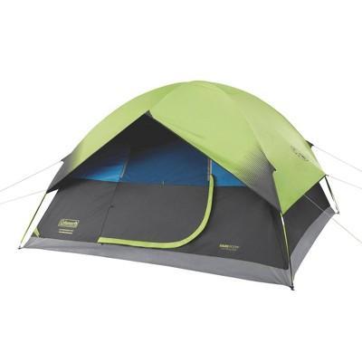 Coleman 6-Person Dark Room Sundome Tent - Green