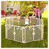 Toddleroo By North States Superyard Indoor Outdoor 8 Panel Freestanding Gate - image 2 of 4