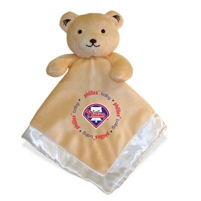 Philadelphia Phillies Baby Fanatic Security Bear - White
