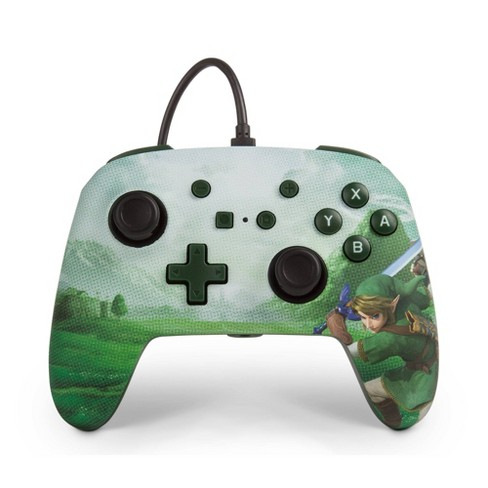 PowerA Enhanced Wired Controller for Nintendo Switch - Link Hyrule - image 1 of 4