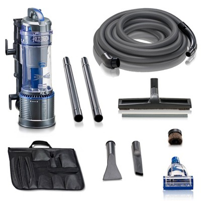 Prolux Wall-Mountable Bagless Garage Vacuum - Gray