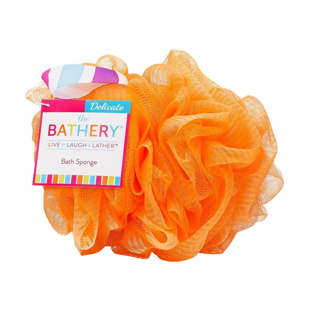 Image of The Bathery Delicate Sponge - Orange