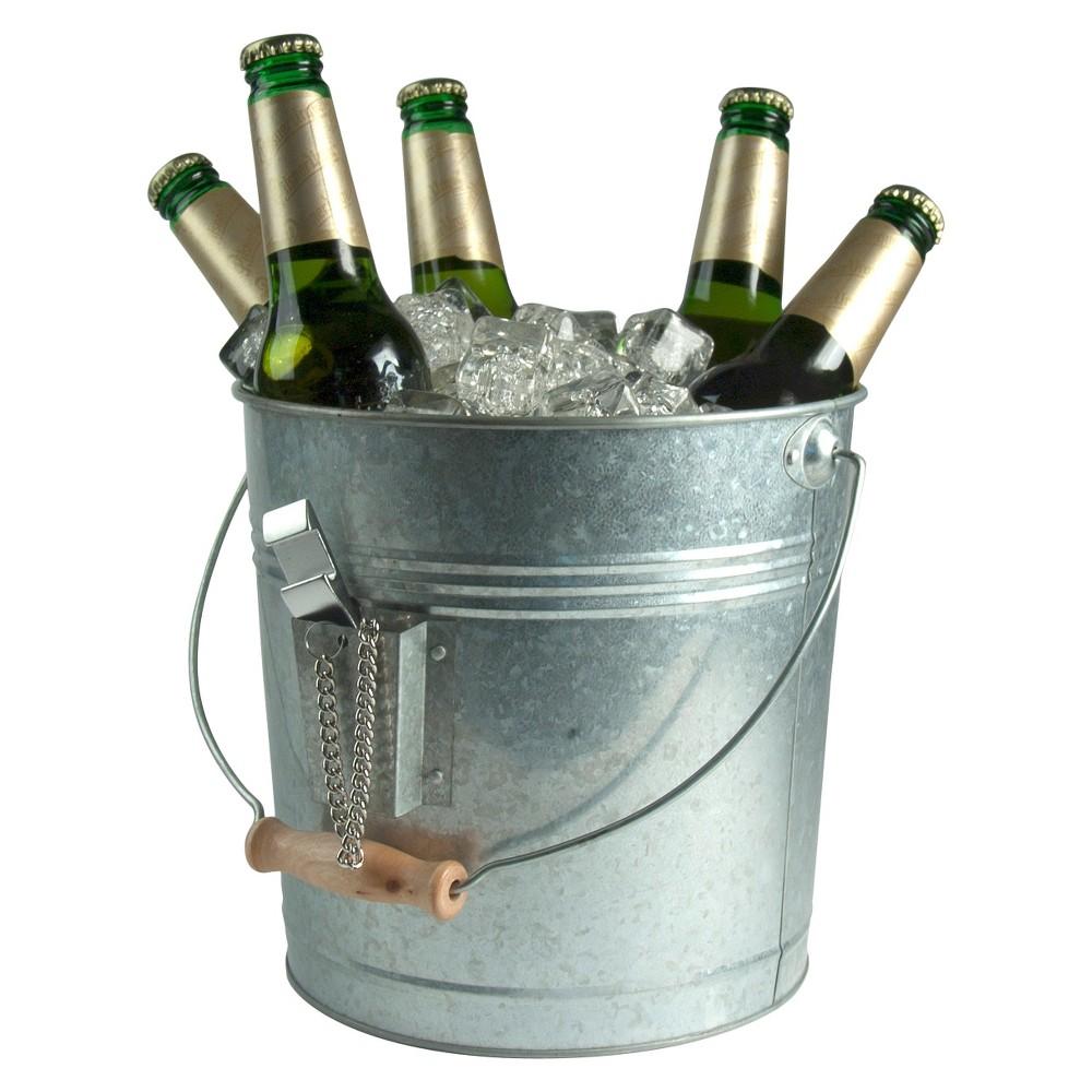 Image of Masonware Beverage Pail, Galvanized