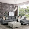 Deming Square Ottoman Gray - HOMES: Inside + Out - image 3 of 3