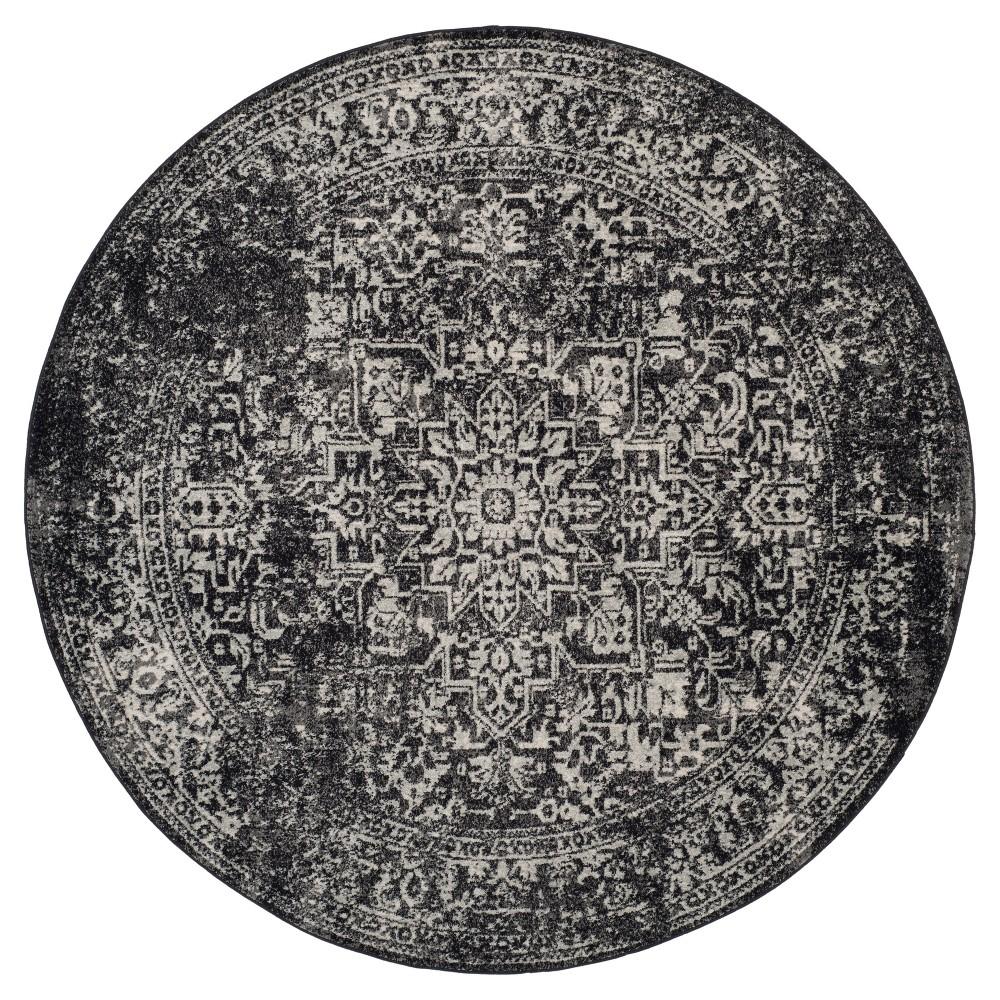 Evoke Rug - Black/Gray - 6'7