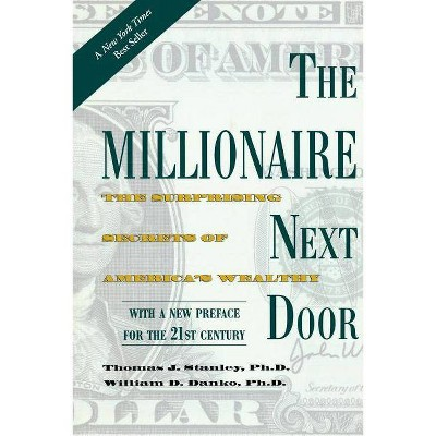 The Millionaire Next Door - by  Thomas J Stanley & William D Danko (Paperback)