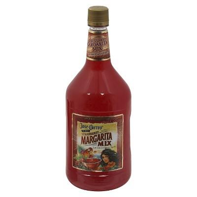 Jose Cuervo Strawberry Margarita Mix - 1.75L Bottle