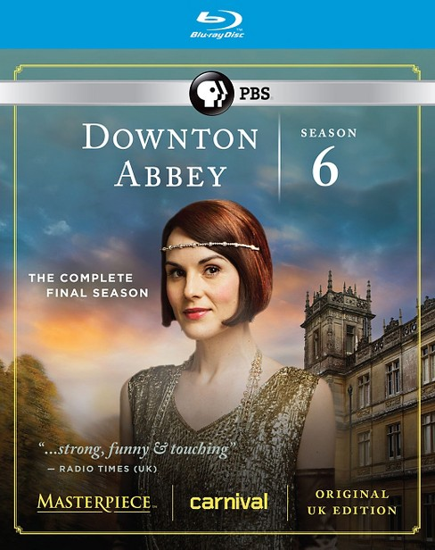 Downton Abbey: Season 6 (Blu-ray) - image 1 of 1