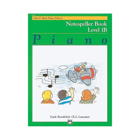 Alfred Alfred's Basic Piano Course Notespeller Book 1B - image 1 of 1