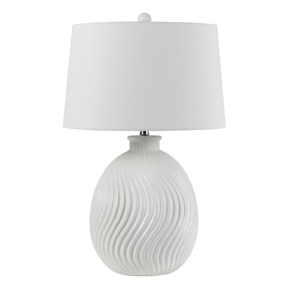 150W 3 Way Olbia Ceramic Table Lamp (Lamp Only) - Cal Lighting, Multi-Colored