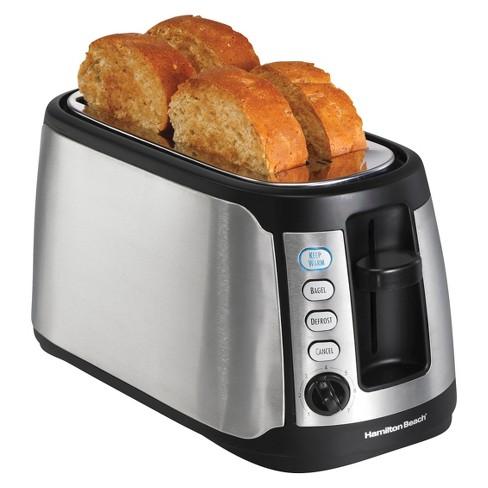 Hamilton Beach 4-Slice Keep Warm Toaster- 24810 - image 1 of 3