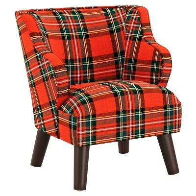 Kids' Modern Chair Ancient Stewart Red - Skyline Furniture