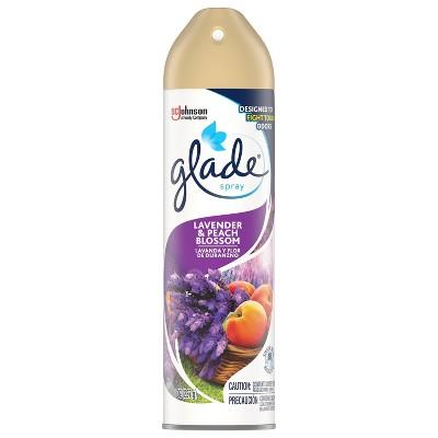 Glade Lavender & Peach Blossom Aerosol - 8oz