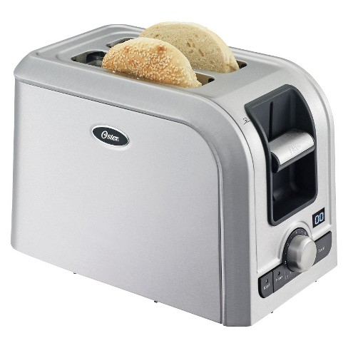 Oster® 2-Slice Digital Countdown Toaster, Brushed Stainless, TSSTRTS2S2 - image 1 of 2