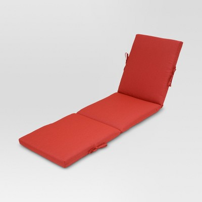 chaise cushion solid threshold target - Chaise Orange