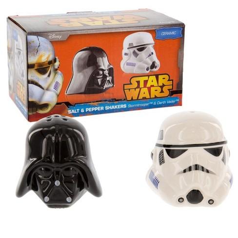 Seven20 Star Wars Salt & Pepper Shakers Darth Vader & Stormtrooper - image 1 of 2