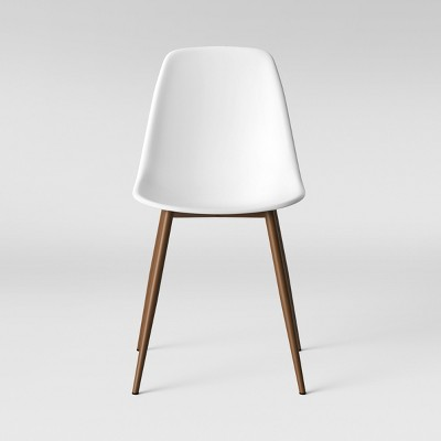 Copley Plastic Dining Chair White - Project 62™