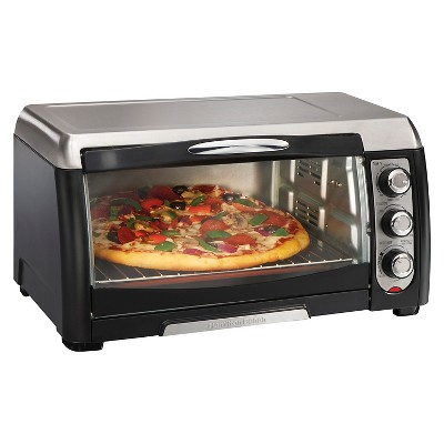 Hamilton Beach Convection Toaster Oven 6 Slice - Black 31331