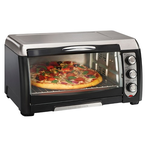 Hamilton Beach Convection Toaster Oven 6 Slice - Black 31331 - image 1 of 4