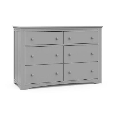 Graco Hadley 6 Drawer Dresser - Pebble Gray