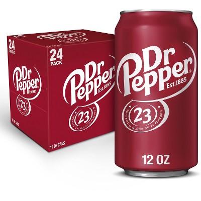 Dr Pepper - 24pk/12 fl oz Cans