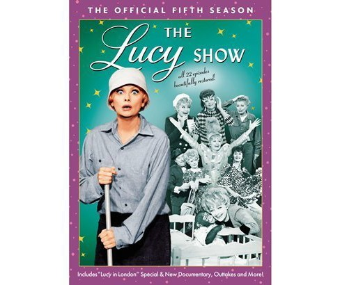 The Lucy Show: The Official Fifth Season [4 Discs] - image 1 of 1