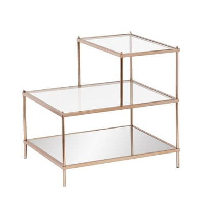 Paulina Accent Table Warm Gold - Aiden Lane