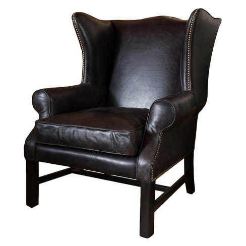 Kincaid Arm Chair - Black - Christopher Knight Home - image 1 of 4