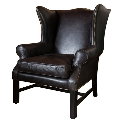 Exceptionnel Kincaid Arm Chair   Black   Christopher Knight Home