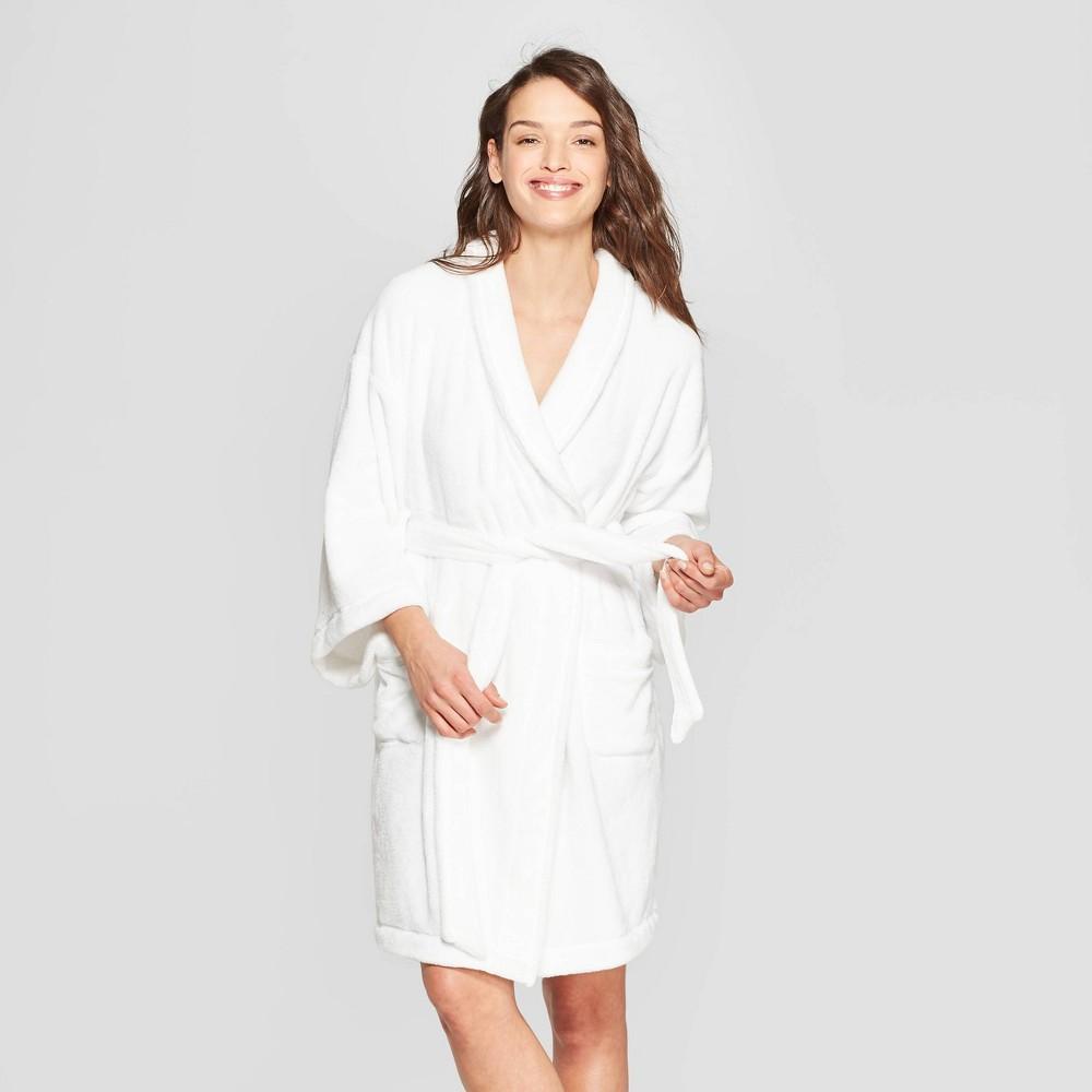 Women S Cozy Robe Stars Above 8482 White Xl Xxl