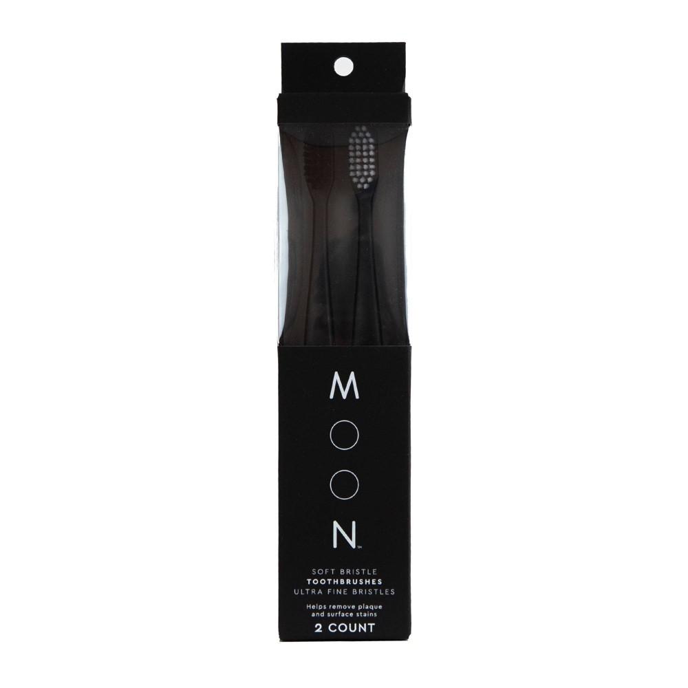 Image of Moon Soft Bristle Toothbrush - 2pk