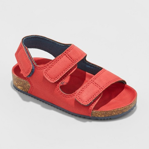 Toddler Boys' Victor Hiking Sandals - Cat & Jack™ Red - image 1 of 3