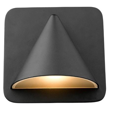 "Z-Lite 578-LED Obelisk 6"" Tall LED Outdoor Wall Sconce - image 1 of 4"
