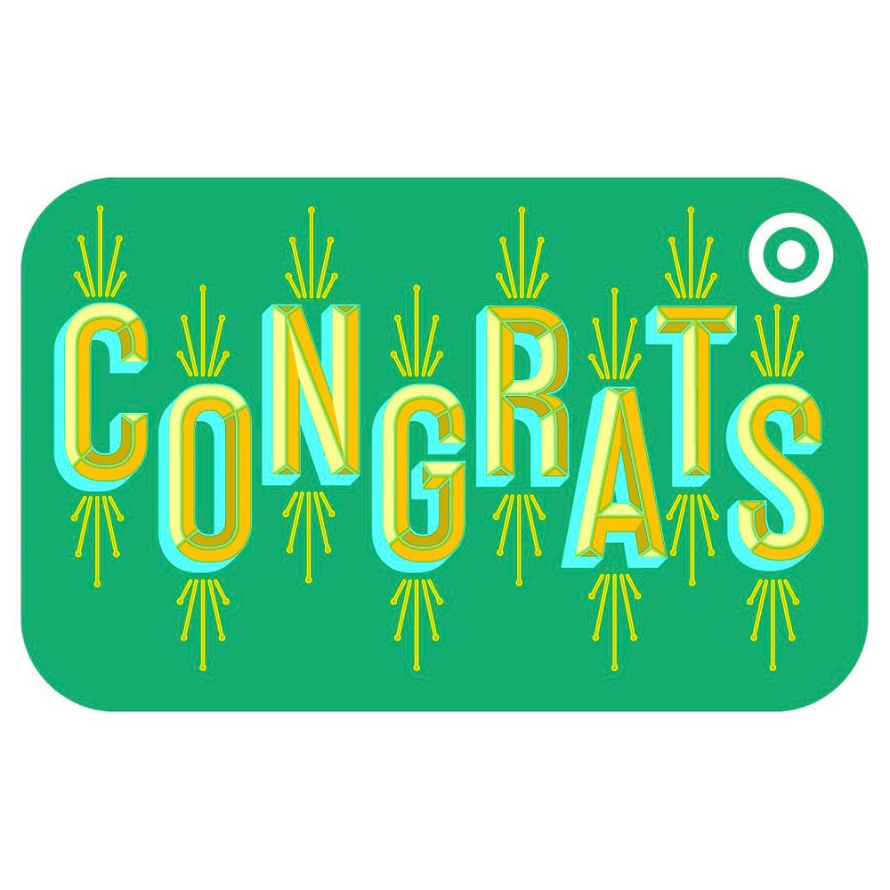 Congrats Target Giftcard, Target GiftCards Congrats Target Giftcard, Target GiftCards