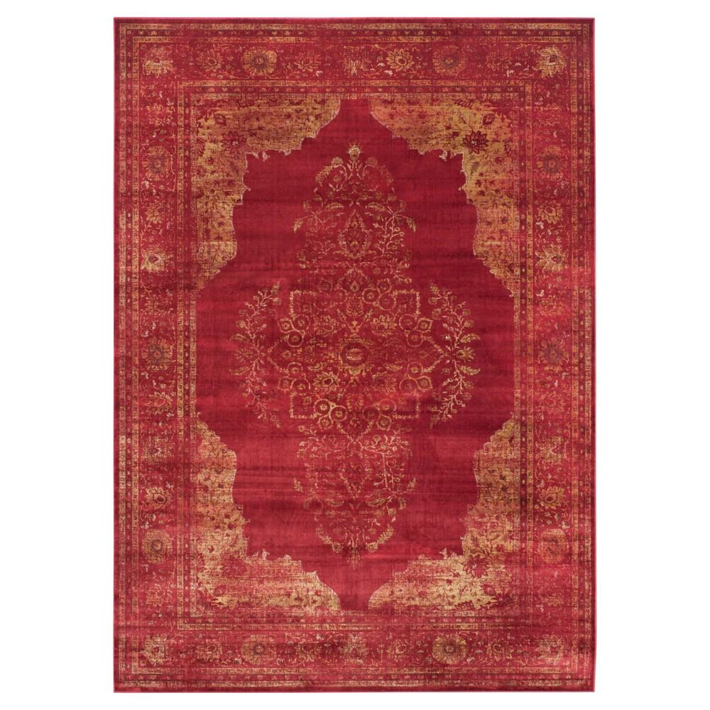 Vintage Rug - Rose - (8'x11'2) - Safavieh, Pink