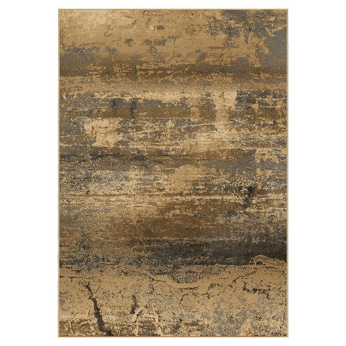 Bonded Earth Beige Rug - Orian - image 1 of 5
