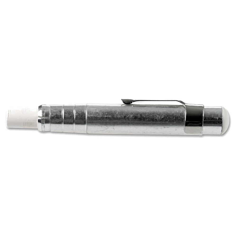 Charle Aluminum Chalk Holder, Silver