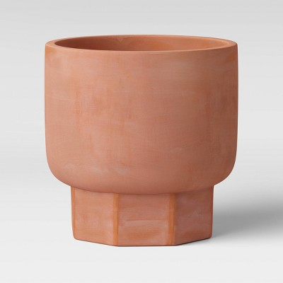 12  Hexagon Stoneware Planter Terracotta - Project 62™